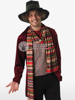 Doctor Who 4th Doctor - Adult Costume Fancy Dress