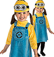 Female Minion - Toddler Costume Fancy Dress