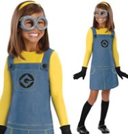 Female Minion - Child Costume Fancy Dress