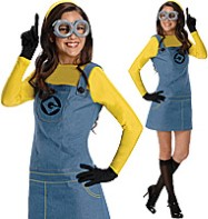 Female Minion - Adult Costume Fancy Dress