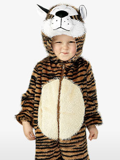 Tiger Costume - Child Costume Fancy Dress