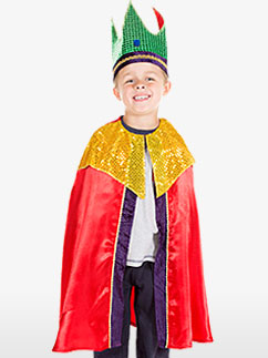 Red Nativity King