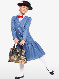 Mary Poppins - Child Costume Fancy Dress