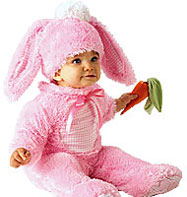 Precious Pink Wabbit- Infant Costume Fancy Dress