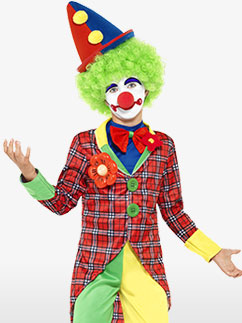 Clown - Child Costume Fancy Dress