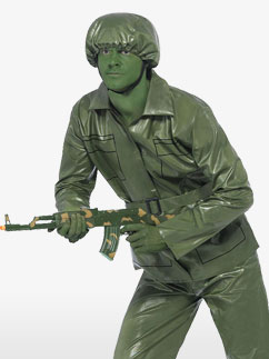 Toy Soldier - Adult Costume Fancy Dress