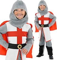 Fancy Dress - Boys St George Knight - Small