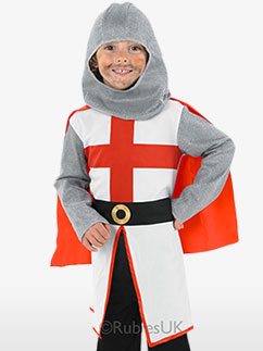 St George Knight - Child Costume Fancy Dress