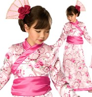 Asian Princess - Child Costume Fancy Dress