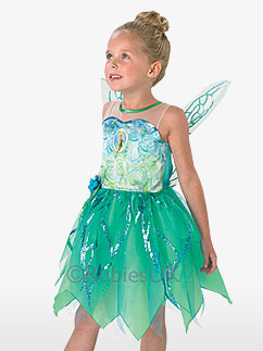 Tinker Bell Pixie Fairy - Child Costume Fancy Dress