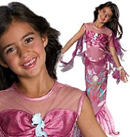 Pink Mermaid - Child Costume Fancy Dress