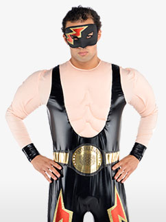 Wrestler - Adult Costume Fancy Dress