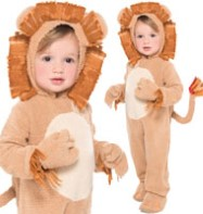 Loveable Lion - Toddler Costume Fancy Dress