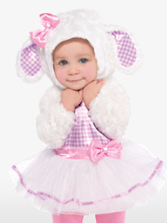 Little Lamb - Baby Costume Fancy Dress