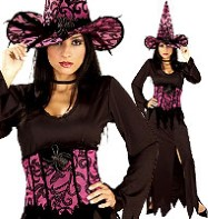 Elegant Witch - Adult Costume Fancy Dress