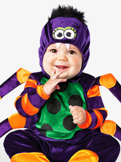 Itsy Bitsy Spider - Baby Costume Fancy Dress