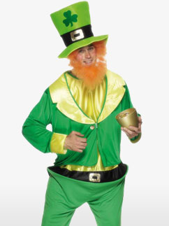 St Patrick's Leprechaun - Adult Costume Fancy Dress