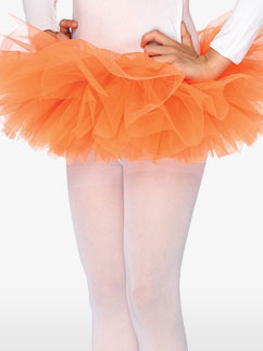 Orange Tutu - Child Costume Fancy Dress