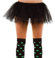 Black Tu-tu - Adult Costume Fancy Dress