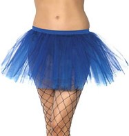 Blue Tu-tu - Adult Costume Fancy Dress