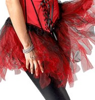 Burlesque Tutu - Adult Costume Fancy Dress