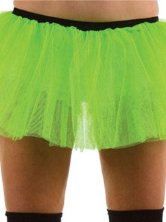 Green Tu-tu - Adult Costume Fancy Dress