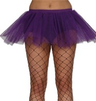 Purple Tu-tu - Adult Costume Fancy Dress
