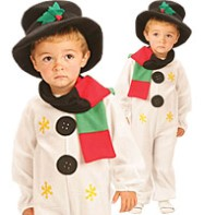 Snowman - Toddler Costume Fancy Dress