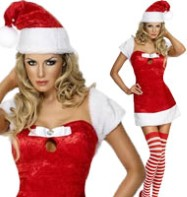 Christmas Present Red - Adult Costume Fancy Dress