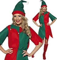 Elf Tunic - Adult Costume Fancy Dress