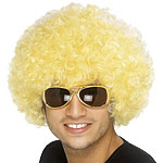 Afro Wig - Yellow