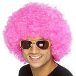 Afro Wig - Pink