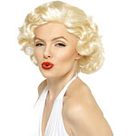 Marilyn Economy Wig Fancy Dress