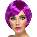 Babe Wig - Purple Fancy Dress
