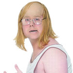Andy (Little Britain) Wig Fancy Dress