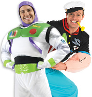 Cartoon Characters Fancy Dress