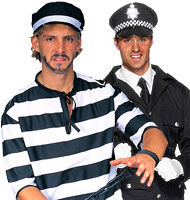 Cops & Robbers Fancy Dress
