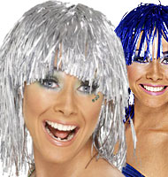 Female Tinsel Wigs
