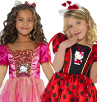 Hello Kitty Childrens Fancy Dress