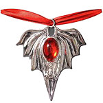 Gothic Bat Medallion