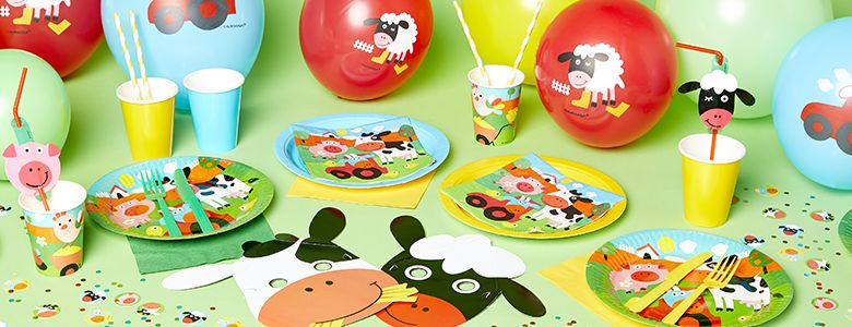 Farm Fun Party Supplies
