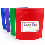 Primary Colours Party Bags