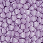 Lilac Chocolate Hearts - 1kg
