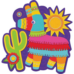 Pinata Cutout - 26.5cm Mexican Decoration