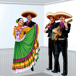 Fiesta Dancers and Mariachi Add-ons - Mexican Decoration
