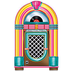 1950's Party Supplies Jukebox Cutout