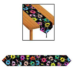 Rock 'n' Roll Rock and Roll Table Runner