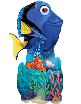 "Finding Dory Airwalker Balloon - 55"" Foil"