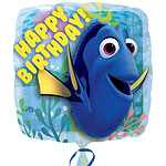 "Finding Dory Happy Birthday Balloon - 18"" Foil"