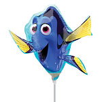 "Finding Dory Mini Airfilled Balloons - 9"" Foil"